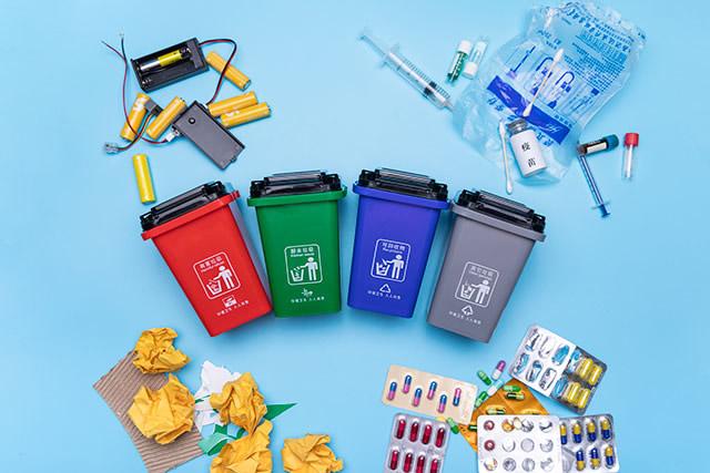 垃圾分类进入强制时代 垃圾分类的重要性、好处及分类垃圾桶颜色